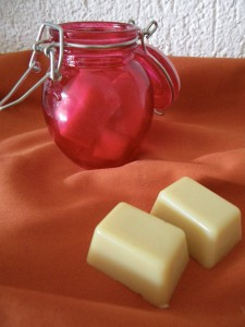 Cocoa butter massage bar recipe