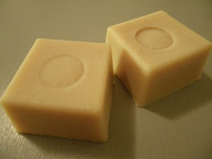 Lemon yogurt soap for fresh morning!