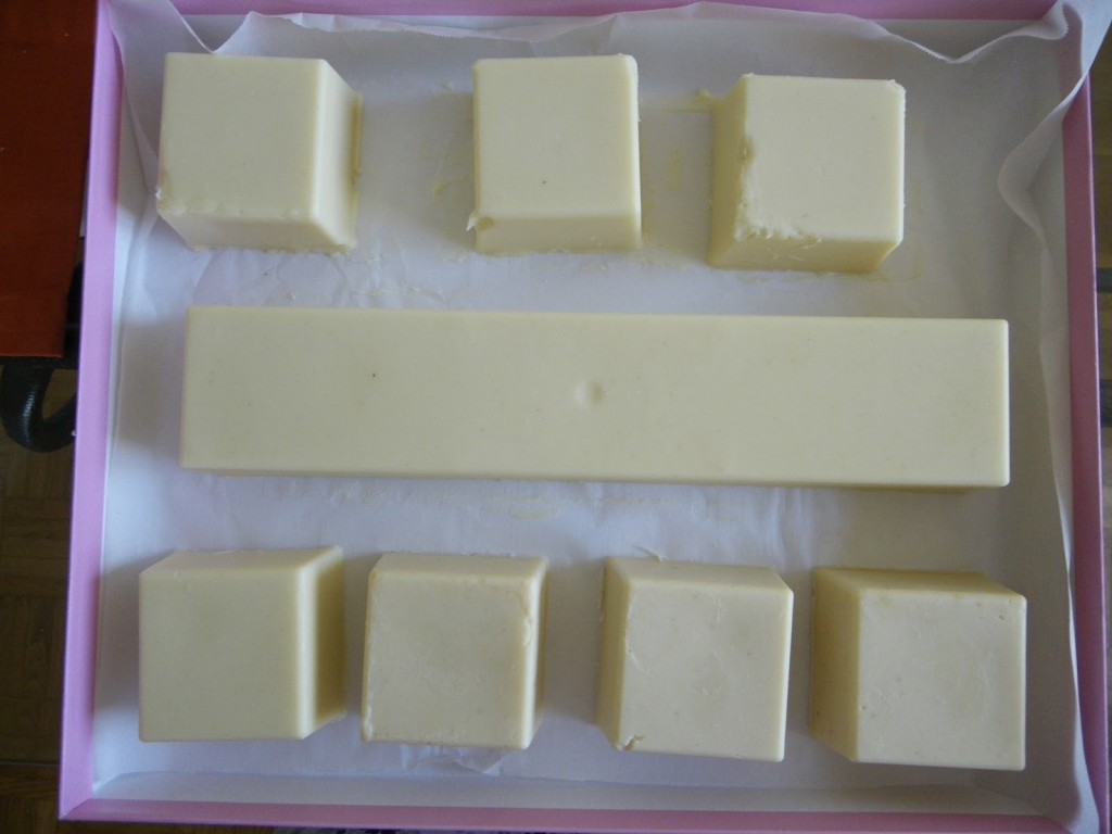 Lemon yogurt soap experiment