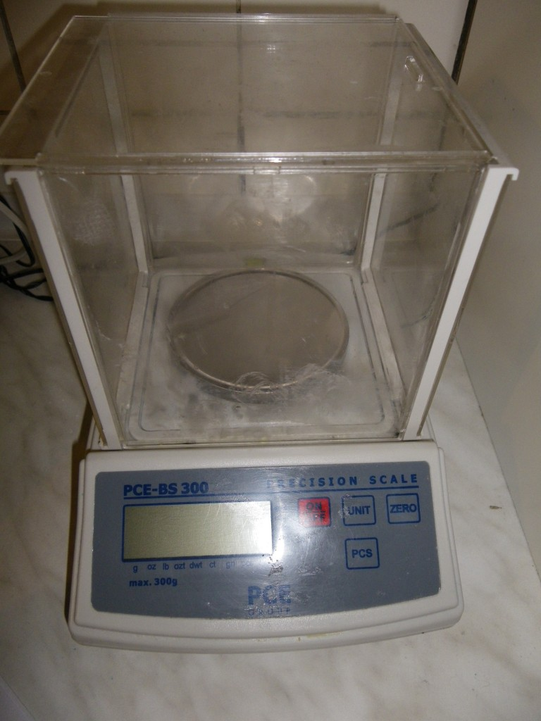My scale