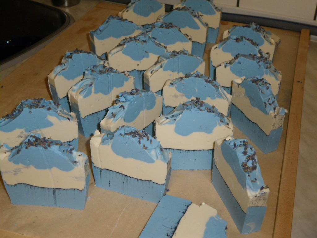 Lavender milk olive oil soap