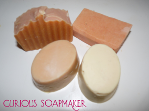 Goat milk soap recipe - and why it is hard to keep it white